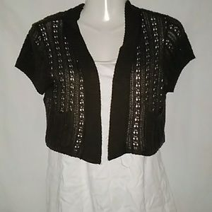 Say what cropped cardigan ( nwot)